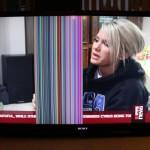 televizor culori inversate